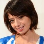 Cute short bob haircut with layers - Kate Micucci short hairstyles