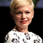 Chic short blonde pixie cut for 2014 - Michelle Williams' Haircut