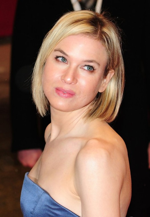 Short haircut for 2014 - Renee Zellweger bob hairstyle