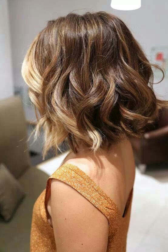 Pretty Short Ombre Hair for Asian Girls
