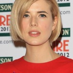 Short Straight Hairstyles for Women - Bob Haircut - Agyness Deyn