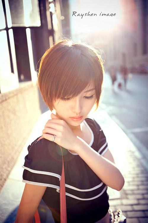 Terrific 21 Cute Short Haircuts For Asian Girls 2017 Chic Short Asian Short Hairstyles For Black Women Fulllsitofus