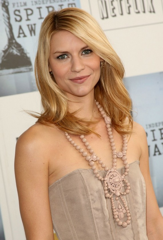 Shoulder Length Trendy Haircut Claire Danes Medium Length
