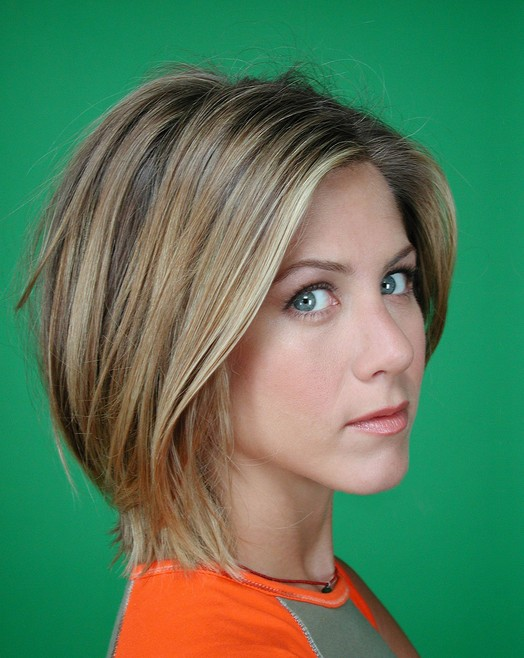 Easy Daily Short Haircut For Women Sleek Bob Cut Jennifer Aniston S Hairstyles
