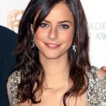 Kaya Scodelario - Layered long hairstyle with side swept bangs for women