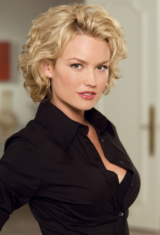 Tremendous Medium Length Wavy Hairstyle For Women Over 30 Kelly Carlson39S Hairstyles For Men Maxibearus