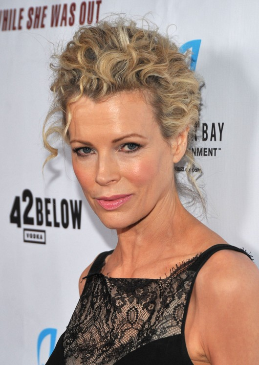 Messy Updo - Casual Short Curly Updo You May Love - Kim Basinger\'s ...