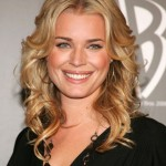 Blonde Wavy Curly Hairstyle for Shoulder Length Hair