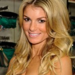 Sexy Center Parted Long Blonde Hairstyle for Women - Marisa Miller's Hairstyle