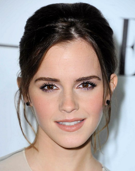 Elegant Updo for Wedding, Prom, Homecoming - Emma Watson's ...