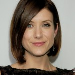 Asymmetric Bob Cut with Side Swept Bangs - Kate Walsh