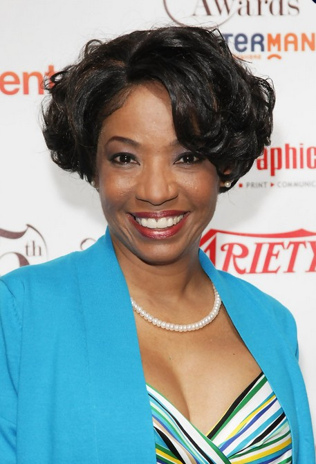 Short Black Curly Bob Hairstyle for African American - Adriane Lenox Haircuts