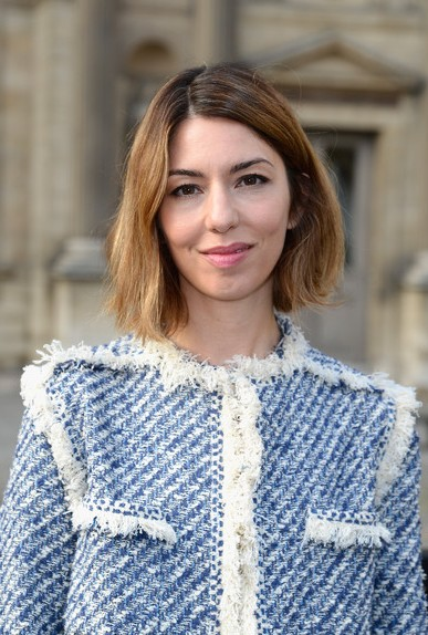 Sofia Coppola Short Haircut - Chin Length Bob Hairstyle for Spring