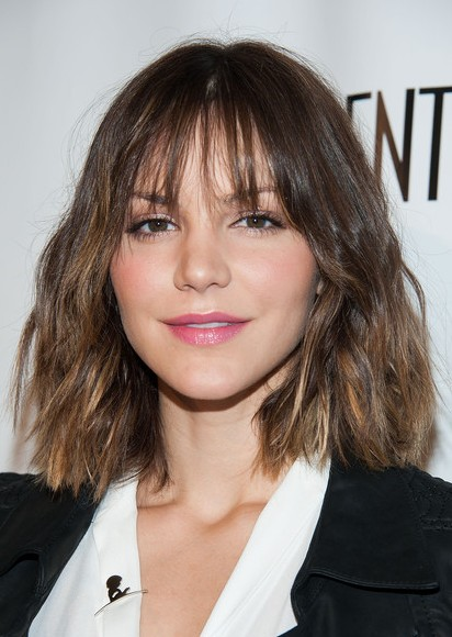 Katharine McPhee Short Haircut - Lovely Short Ombre Hair