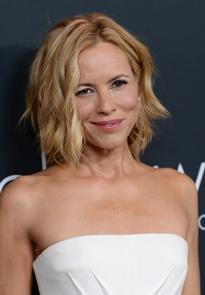 Maria Bello Short Hairstyle 2015