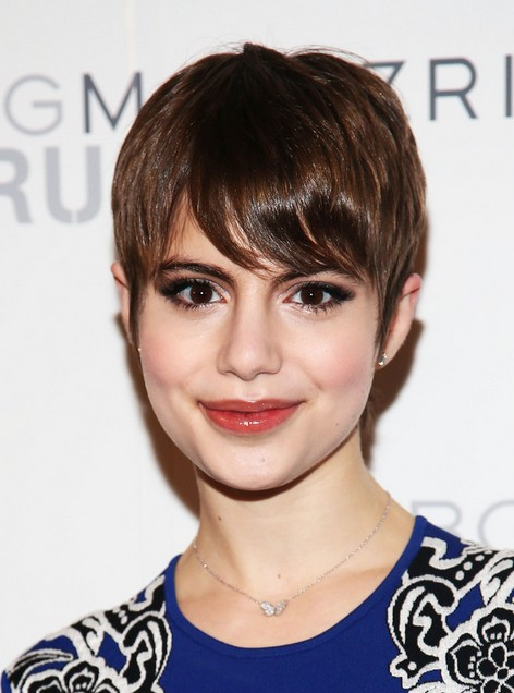 Sami Gayle Short Hair Style - Chic Pixie Cut for Thin Hair