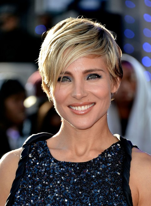 Elsa Pataky Short Hairstyles - Short Hairstyle for Fine Hair