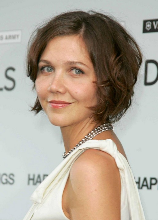 Maggie Gyllenhaal Short Hair Style for 2019 - Hot Mom's Hairstyles