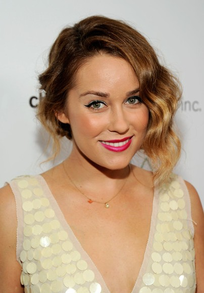 Lauren Conrad Short Wavy Ombre Hair - Ombre Hair Color Ideas