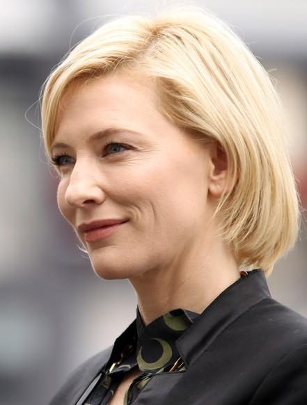 Cate Blanchett Short Hairstyle for Women Over 40