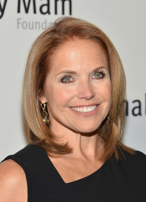Tremendous 2014 Short Hairstyle For Women Over 50 From Katie Couric Short Hairstyles For Black Women Fulllsitofus