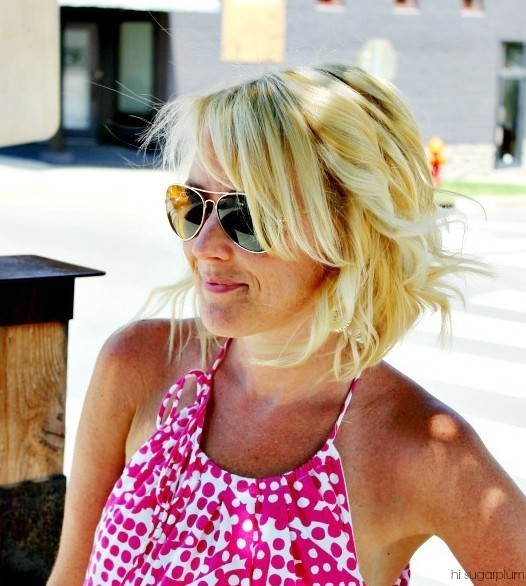 Angled Piecey Bob - Best Summer Bob Hairstyle for 2014