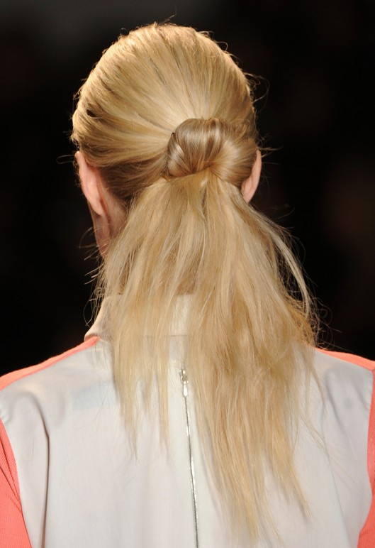 Blonde Hairstyles 2014 - Runway Hair Ideas