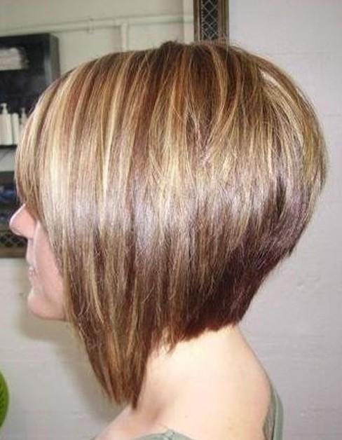 Brilliant Bob Hair Side View Of Graduated Bob Hairstyle Short Hairstyles Short Hairstyles Gunalazisus