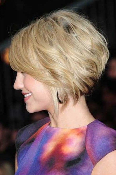 Short Hairstyles Stacked Bob Haircut