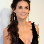 Demi Moore hairstyle 2014 loose curly hairstyle for women over 50