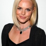 Kate Bosworth hairstyle - celebrity short bob hairstyle for heart face shapes