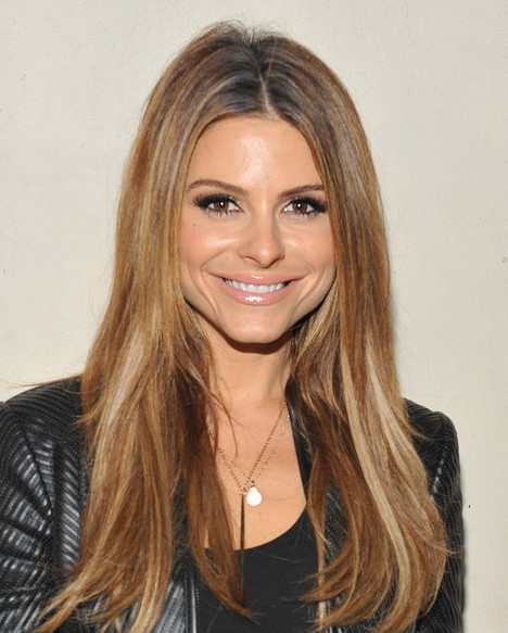 Maria Menounos Long Hairstyle for 2014