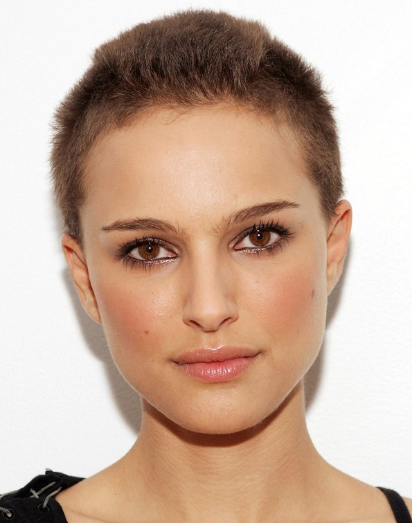 Very Short Buzz Cut For Women Natalie Portmans Hairstyles