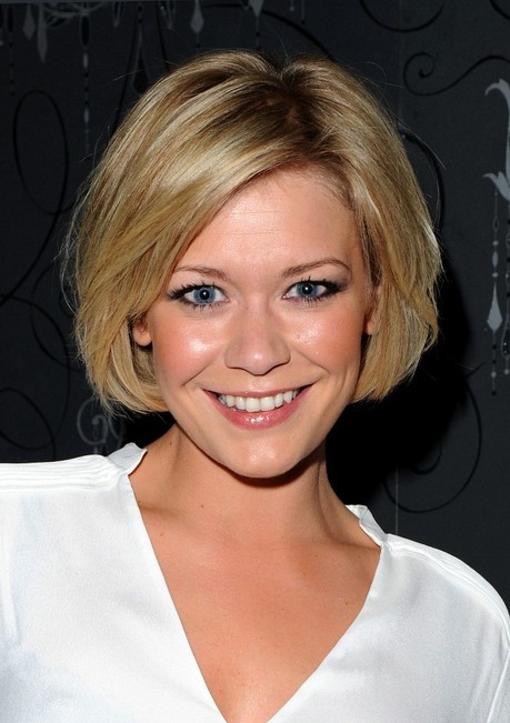 Excellent Suzanne Shaw Bob Hairstyle Cute Celebrity Hairstyle For Oval Short Hairstyles Gunalazisus