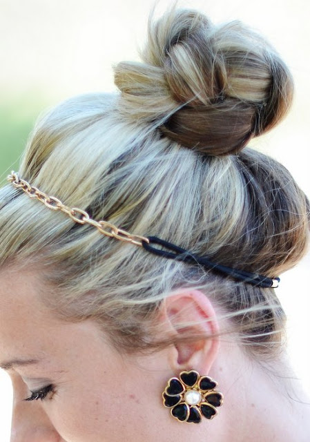 Braided-Top-Knot