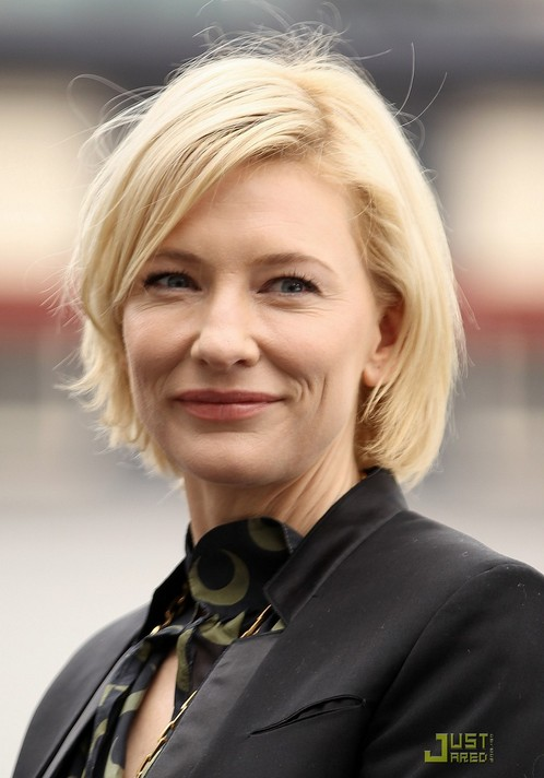 Short Hairstyles For Women Over 40 Cate Blanchett S
