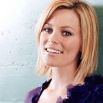 Elizabeth Banks short haircut: straight bob cut