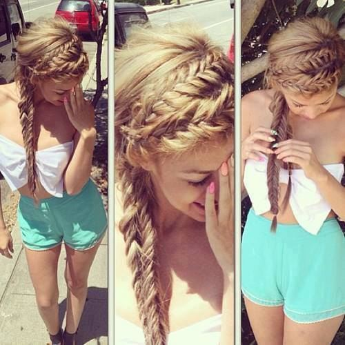 Groovy 22 Gorgeous Braided Hairstyles For Girls Hairstyles Weekly Hairstyle Inspiration Daily Dogsangcom