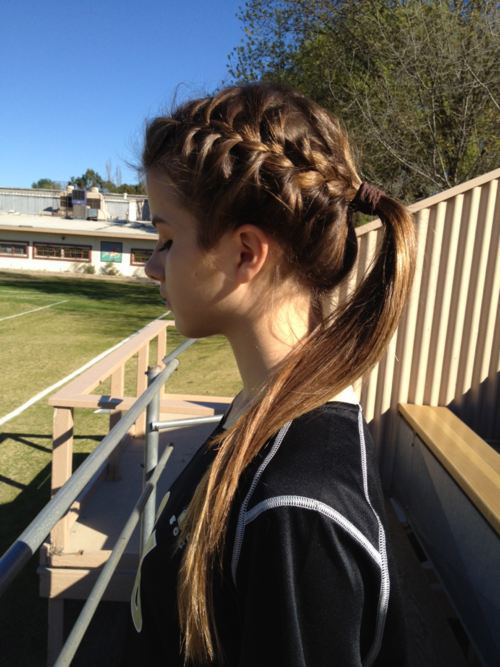 Cute Volleyball Hairstyles For Long Hair : Gorgeous braided hairstyles for girls weekly