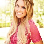 Lauren Conrad's strawberry blonde ombre hair