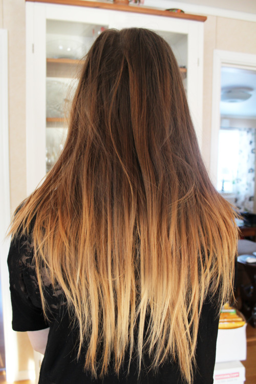 dip dye hair styles ombre hair 2014 choppy amp dip dyed 3959