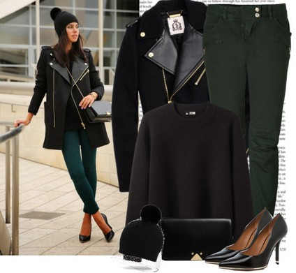 20 Trendy Polyvore Outfits for Winter 2018 - Hairstyles Weekly