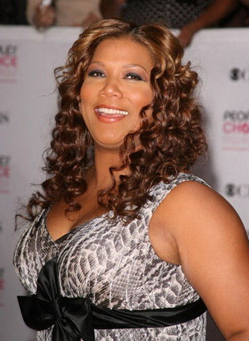 Curly Hairstyle Queen Latifah S Sexy Shoulder Length
