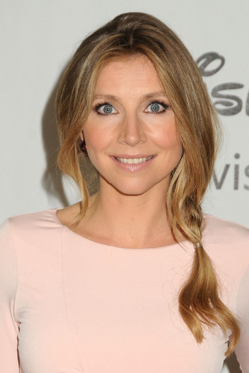 Sarah Chalke Hairstyles: cute hairstyle for school