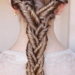 fishtail braid for girls /tumblr