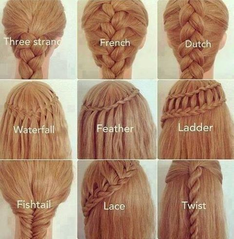 kinds of braids braided hairstyles
