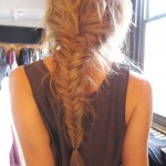 Cute Braided Hairstyle for Girls Fishtail Braid