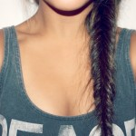 Cute Messy Fishtail Side Braid for Girls