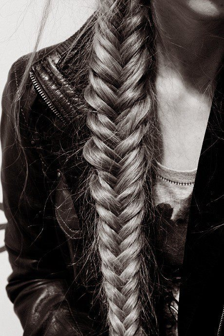 Fishtail Braid Hairstyle Great Summer Hair Style for Women tumblr