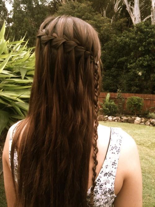 Innovative Asymmetric braid for girls